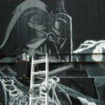 DARKVADOR DARTH VADER MEAK 93 MC graffiti Don't underestimate the power of the Dark Side